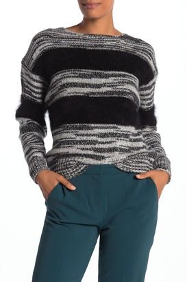 Brochu Walker Odessa Faux Fur Accent Sweater