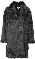 MM6 MAISON MARGIELA oversized faux fur