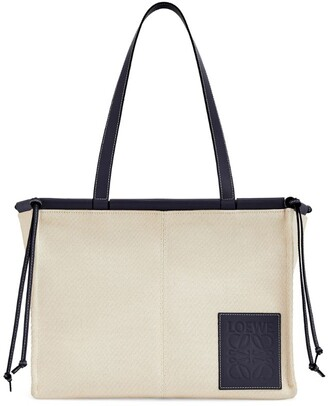 Loewe Small Canvas Cushion Tote Bag