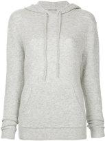 Dion Lee loop back knitted hoodie
