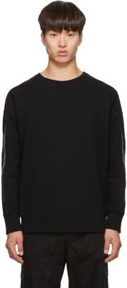 Givenchy Black Logo Stripe Sweatshirt