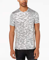 GUESS Men's Foil Camo Stretch T-Shirt