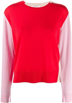 Dorothee Schumacher Colour-Block Knitted Top