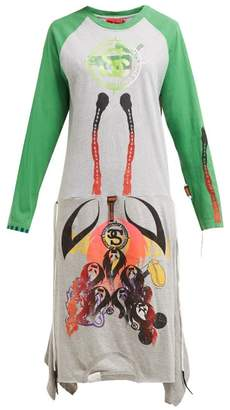 Couture Noki - Customised Street T-shirt Dress - Womens - Multi