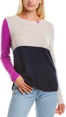 LISA TODD Block Shock Cashmere Sweater