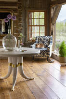 Anthropologie Wooden Tusk Dining Table