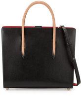Christian Louboutin Paloma Large Triple-Gusset Tote Bag, Black