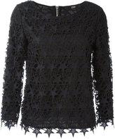 Steffen Schraut star lace dress - women - Cotton/Polyester/Spandex/Elastane - 40