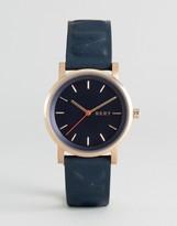 DKNY Leather Soho Watch