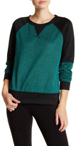 Steve Madden 2-Toned Crewneck Sweater