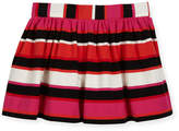 Kate Spade Coreen Striped Skirt, Red/Multi, Size 2-6