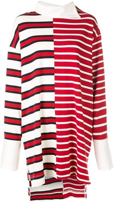 Monse Striped Shift Rugby Dress