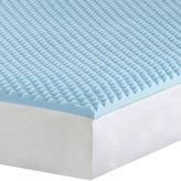 Asstd National Brand 1 Gel Memory Foam Mattress Topper