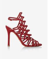 Express caged heeled sandal