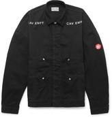 Cav Empt - Embroidered Denim Field Jacket