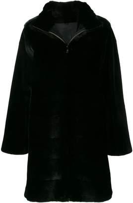 Cara Liska fur coat