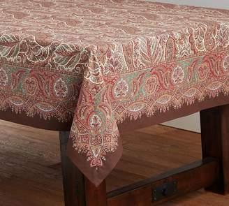 Pottery Barn Norwood Paisley Tablecloth