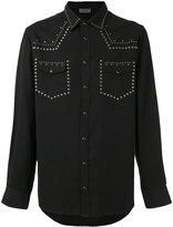 Laneus Texan style shirt - men - Tencel - 48
