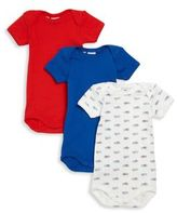 Petit Bateau Baby's Three-Piece Bodysuit Set
