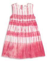 Design History Toddler's & Little Girl'sSleeveless Tie Dye Dress