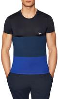 Emporio Armani Crewneck Colorblock T-Shirt