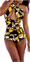 AuntTaylor Teen Girls Sexy Two Piece Camouflage High Stretch Monokini XL