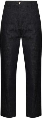 LVIR Twist high-waist cropped jeans