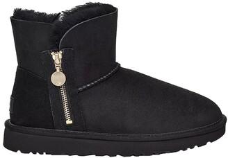 UGG Bailey Zip Mini Leather Boot