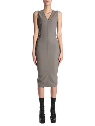 Rick Owens Sleeveless Fitted Dress