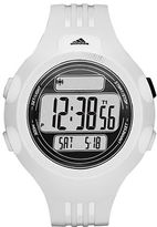 adidas Mens Questra White Digital Chronograph Sport Watch