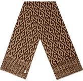 Gucci G rhombus jacquard scarf