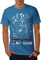 The Big Bang Theory Crazy Life Men NEW XXXL T-shirt | Wellcoda