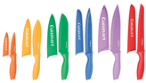 Cuisinart Color Knife Set with Blade Guards (12 PC)