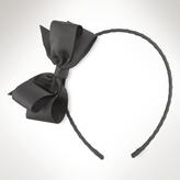 Grosgrain-Ribbon Bow Headband