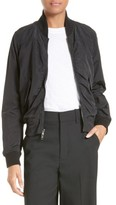 Vince Women's Washed Shrunken Bomber Jacket