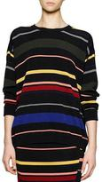 Stella McCartney Crewneck Striped Knit Top