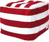 Indo Soul Indosoul Outdoor Ottomans Kakaban Outdoor Ottoman Cover, Red/white1