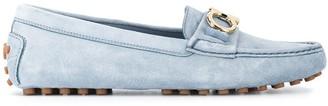 Salvatore Ferragamo Gancini slip-on loafers
