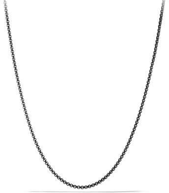 "David Yurman Small Box Chain Necklace, 22"""
