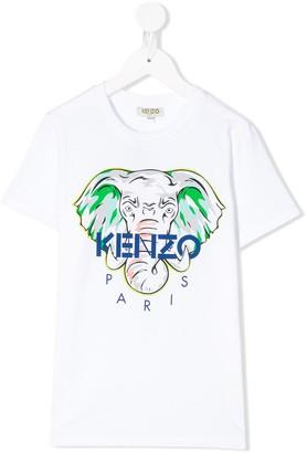 Kenzo Elephant print T-shirt