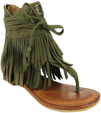 Not Rated Chia Fringe Sandal