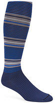 Roundtree & Yorke Gold Label Striped Compression Socks