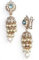 Marchesa Women's Faux Pearl Drop Earrings