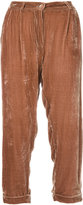 Mes Demoiselles Giuliano cropped trousers