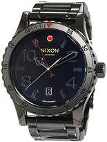 Nixon Mens Quartz Watch, Analogue Classic Display and Stainless Steel Strap A277-1883