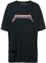 Mastermind Japan oversized logo T-shirt