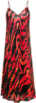 Ellery Runway squiggle print slip dress - women - Silk/Spandex/Elastane - 6