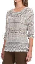 Aventura Clothing Goodwyn Shirt - 3/4 Sleeve (For Women)
