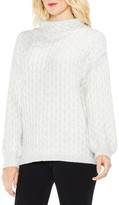 Vince Camuto Women's Cable Turtleneck Sweater