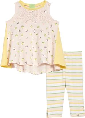 Burt's Bees Baby You're Grape Tunic & Capri Leggings Set